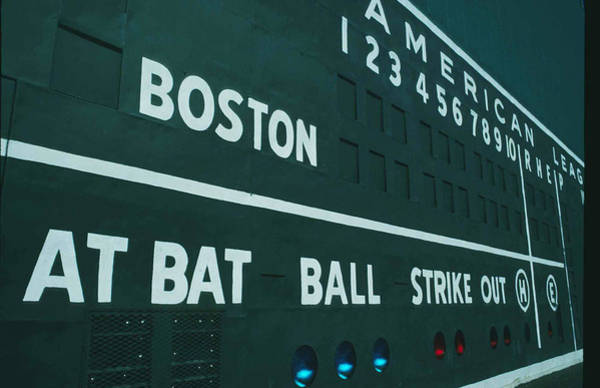 Fenway Photograph - Fenway Park by Ronald C. Modra/sports Imagery
