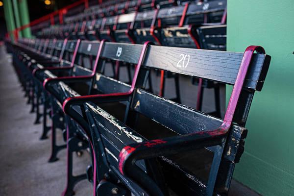 Wall Art - Photograph - Fenway Park Seats Boston Ma by Toby McGuire