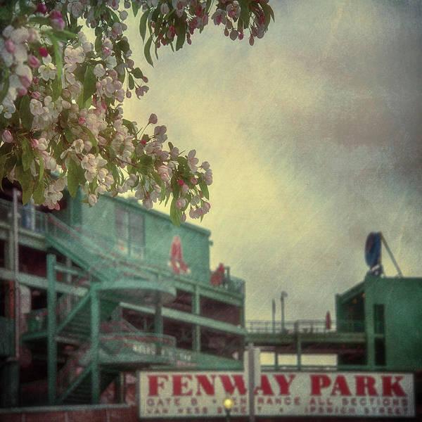 Photograph - Fenway Park Spring  by Joann Vitali
