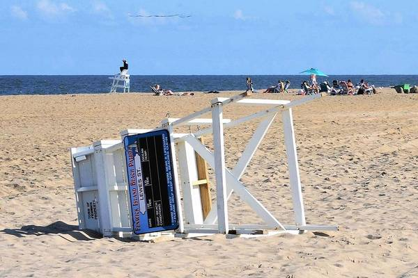 Photograph - Fenwick Island Lifeguard Chair by Kim Bemis
