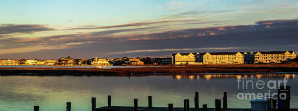 Photograph -  Fenwick Island Panorama by Thomas Marchessault