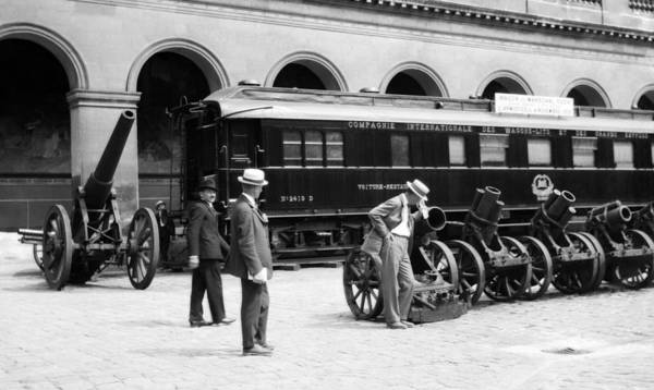 Wall Art - Photograph - Ferdinand Foch Railroad Car - Wwi Armistice by War Is Hell Store