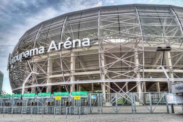 Wall Art - Photograph - Ferencvaros Arena  by David Pyatt