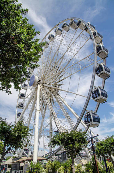 Photograph - Feris Wheel - V And A Waterfront, Cape Town by Rob Huntley