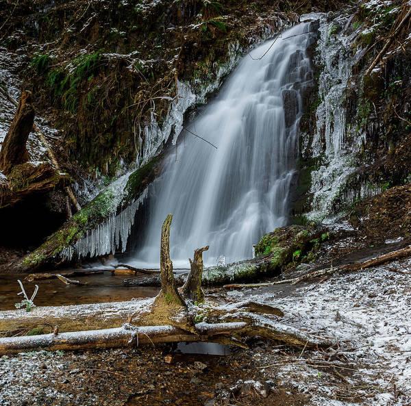 Wall Art - Photograph - Fern Rock Falls  by Lincoln Weaver