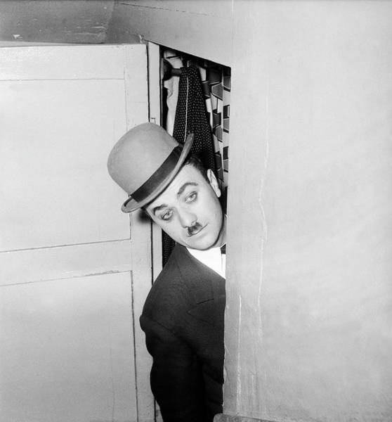 Charlie Photograph - Fernand Raynaud Disguised As Charlie by Keystone-france