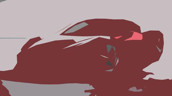 458 Digital Art - Ferrari 458 Italia Abstract Design by CarsToon Concept