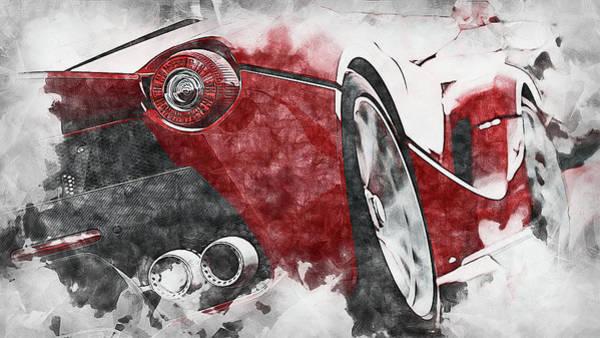 Painting - Ferrari Laferrari - 10 by Andrea Mazzocchetti