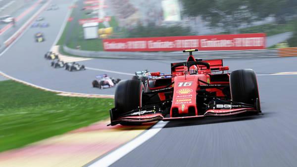 Photograph - Ferrari Sf 90 - 48 by Andrea Mazzocchetti