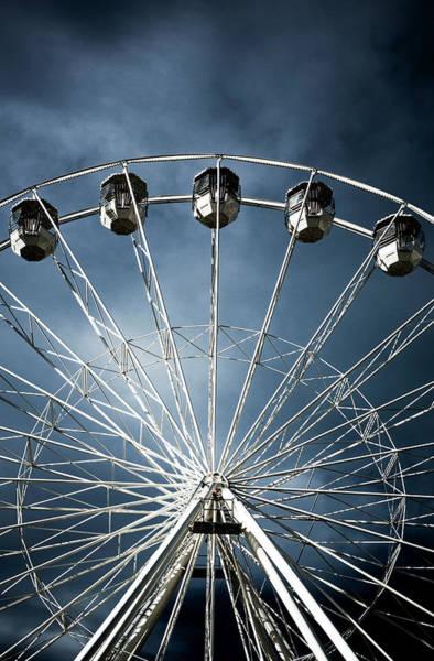Photograph - Ferris  Big Wheel, Bournemouth.uk by Maggie McCall