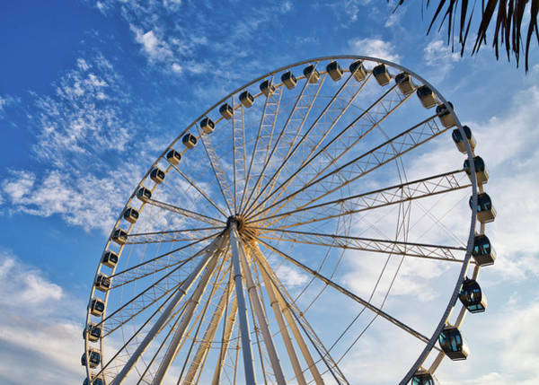 Photograph - Ferris Wheel 8 by Andrea Anderegg