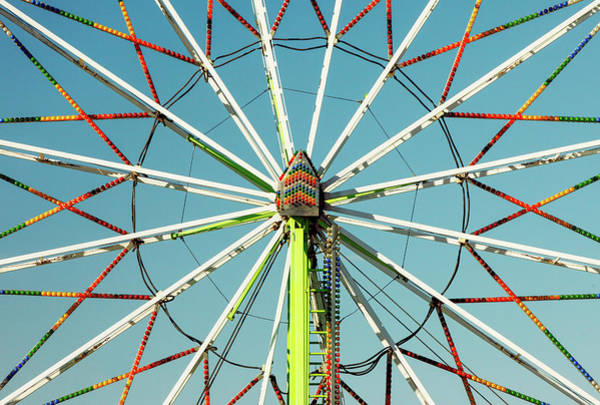 Wall Art - Photograph - Ferris Wheel Centered by Todd Klassy