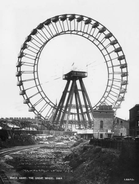 Court House Photograph - Ferris Wheel by London Stereoscopic Company