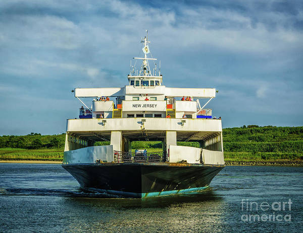 Photograph - Ferry New Jersey by Nick Zelinsky