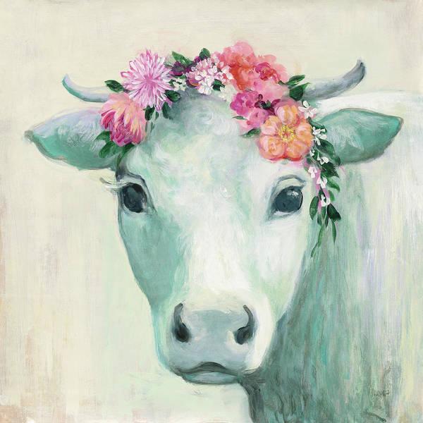 Wall Art - Painting - Festival Girl II by Julia Purinton