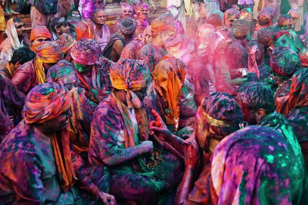 Holi Photograph - Festival Of Colours, Holi, India by Jitendra Singh Is A New Delhi / Shimla Based Photojournalist