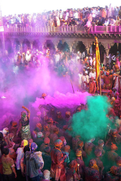 Holi Photograph - Festival Of Colours by Jitendra Singh Is A New Delhi / Shimla Based Photojournalist