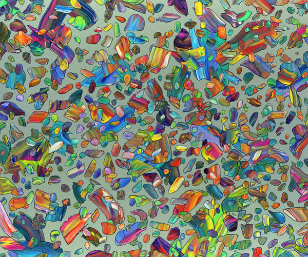 Wall Art - Painting - Festivation by James W Johnson