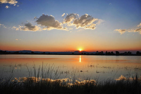 Photograph - Festo Lake Sunset by Chance Kafka