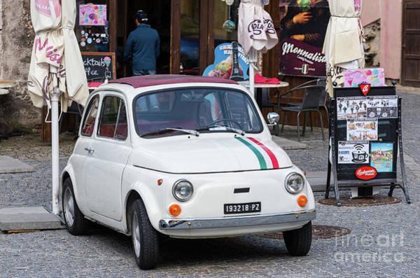 Photograph - Fiat 500 Topolino by Les Palenik