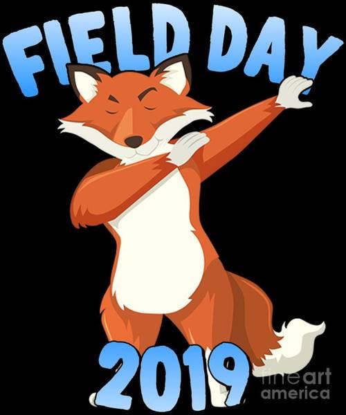 Digital Art - Field Day 2019 Dabbing Fox by Flippin Sweet Gear