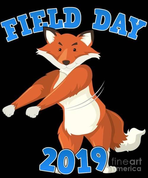 Digital Art - Field Day 2019 Flossing Fox by Flippin Sweet Gear