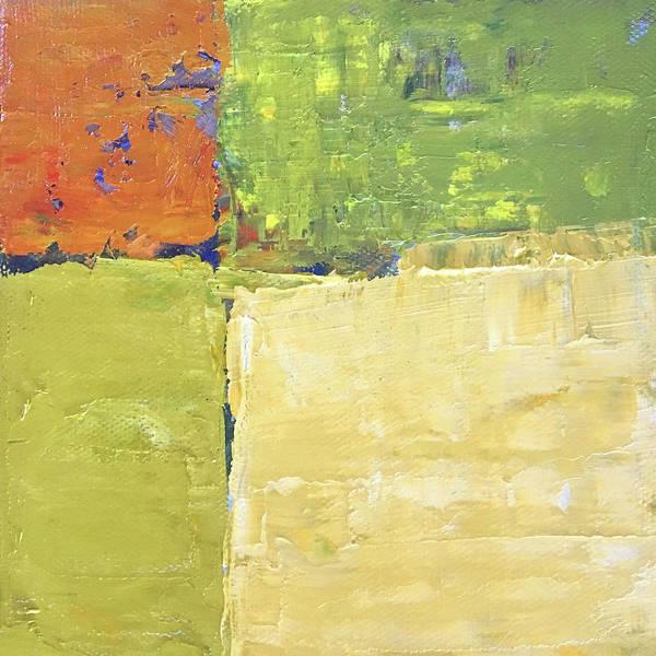 Wall Art - Painting - Field Intersect by Nancy Merkle