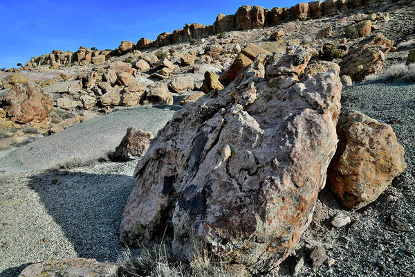 Photograph - Field Of Boulders On Red Point by Ray Mathis