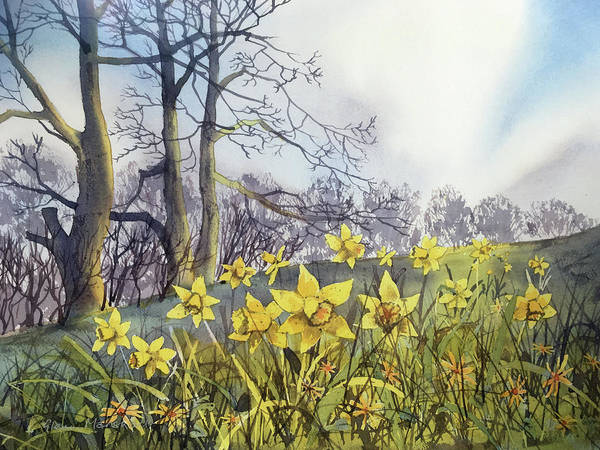 Painting - Field Of Hope At Burton Agnes by Glenn Marshall