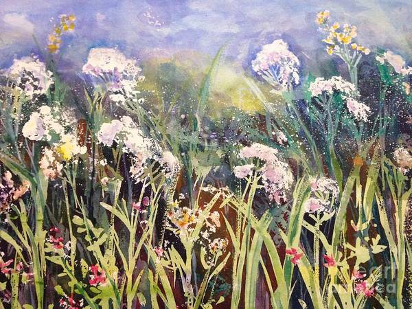 Painting - Field Of Wildflowers by Christine Chin-Fook