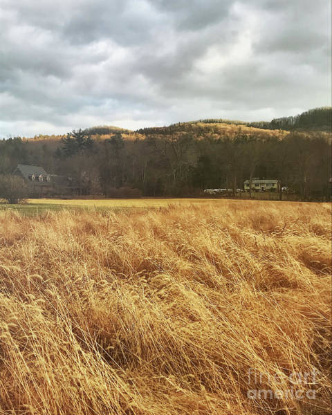 Wall Art - Photograph - Fields And Mountains by HD Connelly