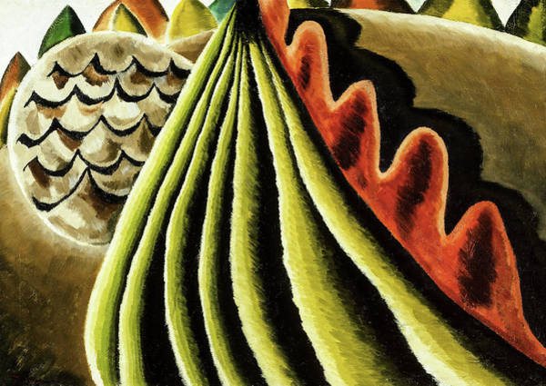 Wall Art - Painting - Fields Of Grain As Seen From Train, 1931 by Arthur Garfield Dove