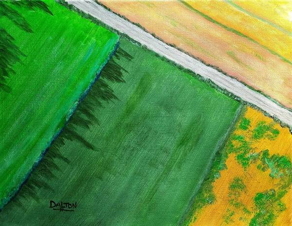 Painting - Fields Of Green by George Dalton