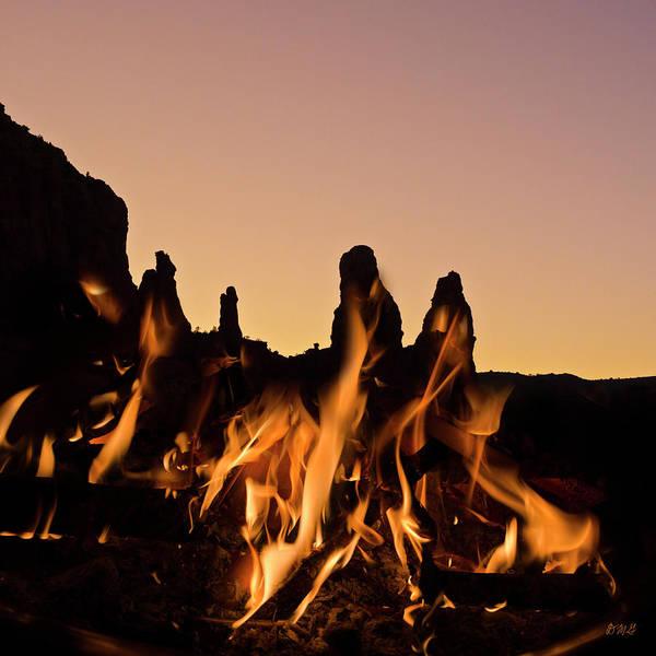Photograph - Fiery Sunset by David Gordon