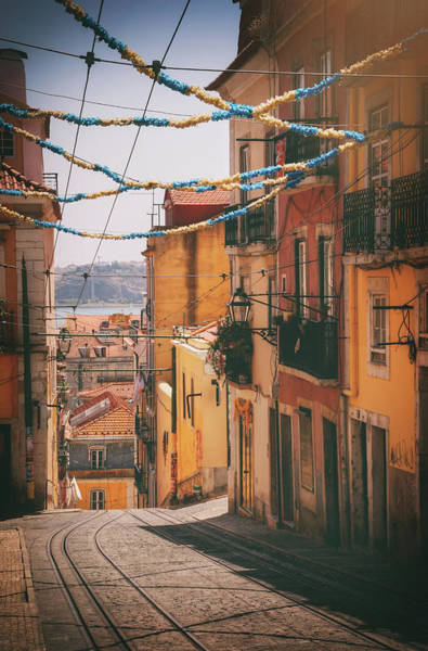 Wall Art - Photograph - Fiesta Time Bairro Alto Lisbon Portugal by Carol Japp