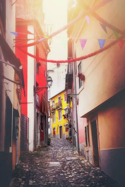 Wall Art - Photograph - Fiesta Time In The Historic Alfama District Lisbon by Carol Japp