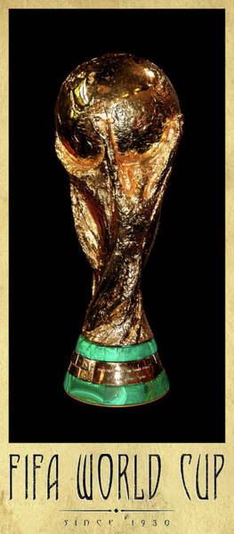 2010 Fifa World Cup Wall Art - Photograph - Fifa World Cup Trophy by Weston Westmoreland