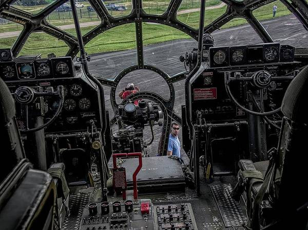 B29 Photograph - Fifi B29 Superfortress Cockpit by John Straton