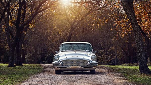 Wall Art - Digital Art - Fifty-five Buick Super by Douglas Pittman