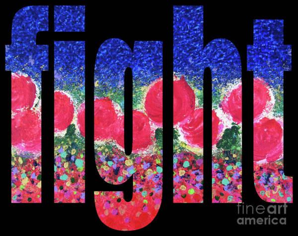 Digital Art - Fight 1003 by Corinne Carroll