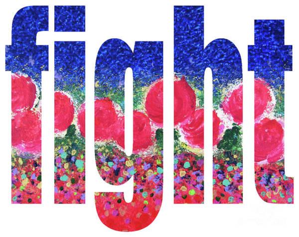 Digital Art - Fight 1004 by Corinne Carroll