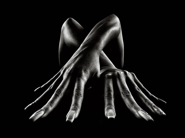Wall Art - Photograph - Figurative Body Parts by Johan Swanepoel