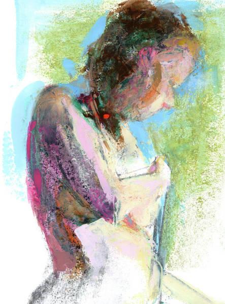 Frau Painting - Rcnpaintings.com by Chris N Rohrbach
