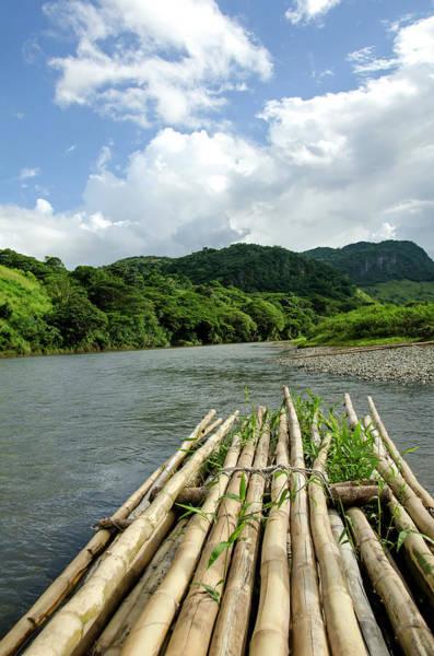 Raft Photograph - Fiji Sigatoka River Raft by M Timothy O'keefe