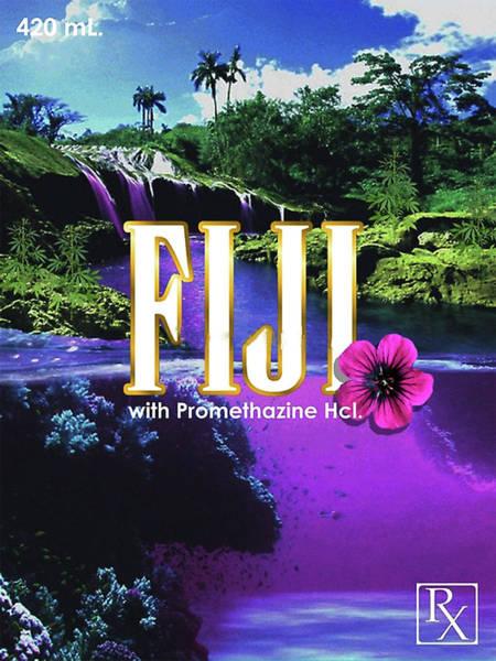 Syrup Digital Art - Fiji With Promethazine by Darven Fitey