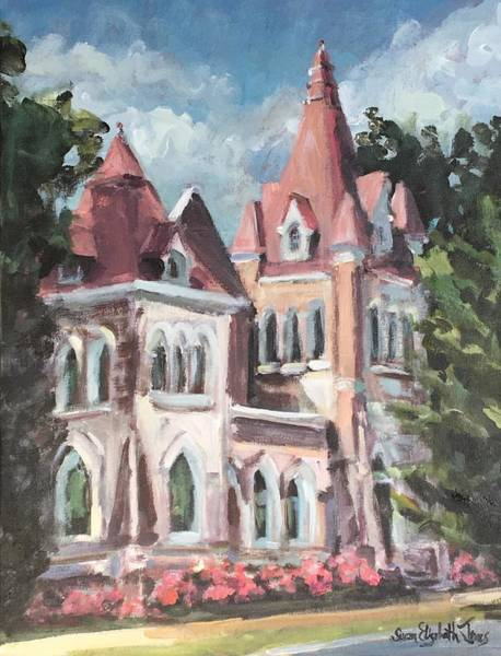 Wall Art - Painting - Fillmore Street Chapel, Corinth, Mississippi S by Susan Elizabeth Jones