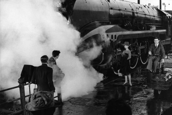 Belgian Culture Photograph - Filming Hepburn by Bert Hardy