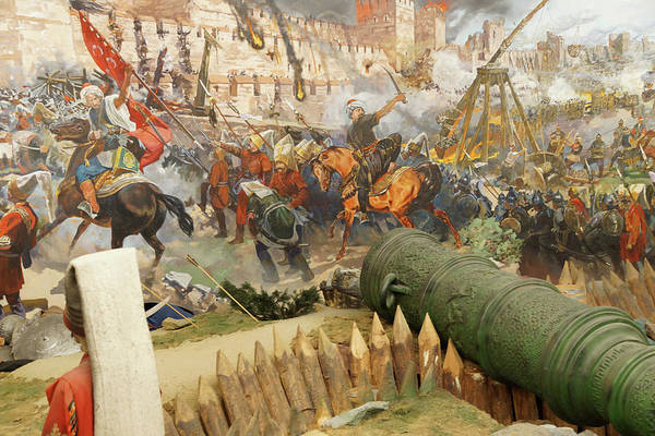 Photograph - Final Assault And The Fall Of Constantinople In 145 by Steve Estvanik