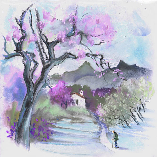 Painting - Finca On The Costa Blanca 04 by Miki De Goodaboom
