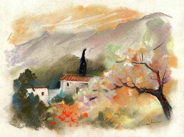 Painting - Finca On The Costa Blanca 05 by Miki De Goodaboom